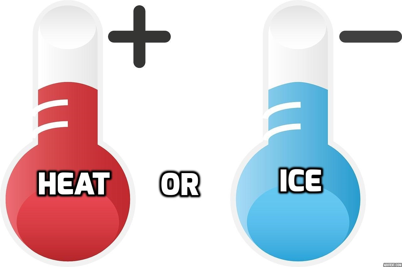 It's the great pain debate: ice vs. heat. Both can help soothe pain and reduce inflammation. But, which one should you be using and when?