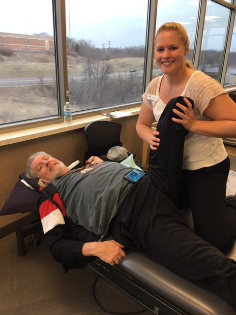 In 2017, OSR Physical Therapy patient Bob French lost his left leg to a bacterial and bone infection. Post amputation care is a long road on recovery, but he's motivated to push himself harder than ever before to get back to normal.